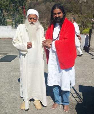 Mohanji and Lamperi Babaji